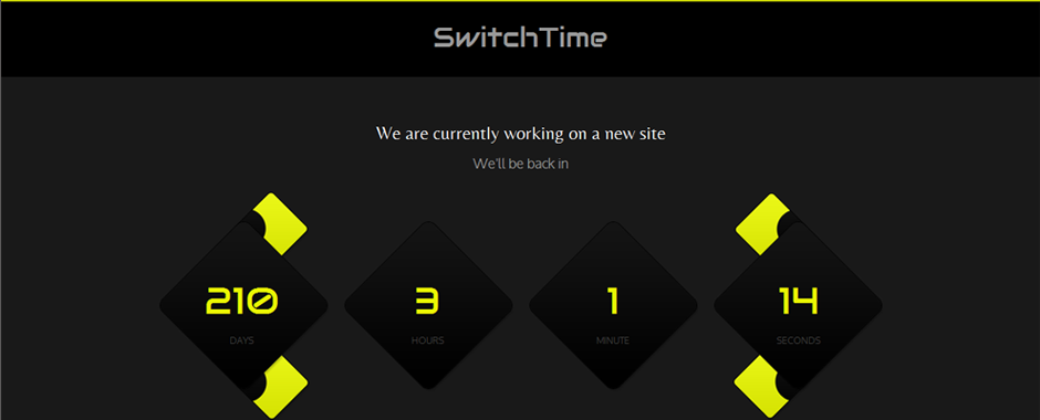 SwitchTime - Under Construction Template