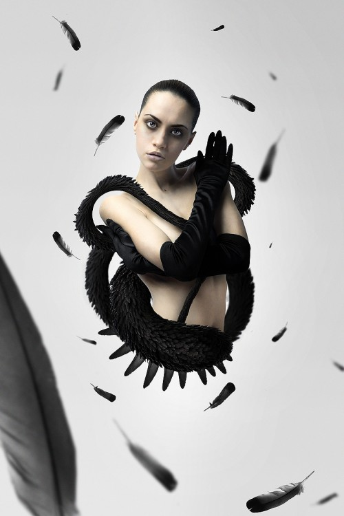 10_Create a Black Swan Inspired Movie Poster