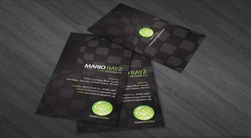 11_Green Globe Business Card