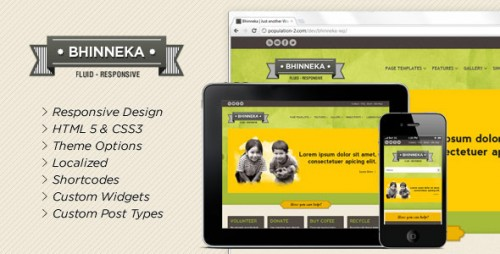 12_Bhinneka - A Responsive WordPress Theme