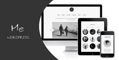 14_Me - OnePage Portfolio