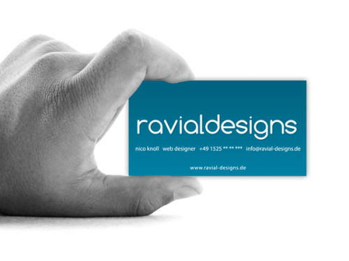 14_Ravial Designs Business Card