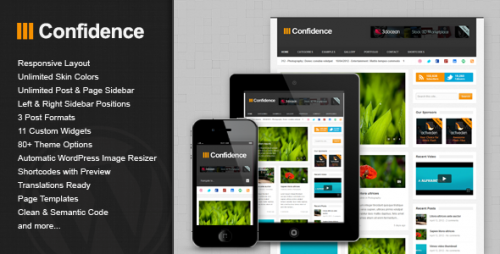 16_Confidence - Responsive Blog &amp; Magazine Theme