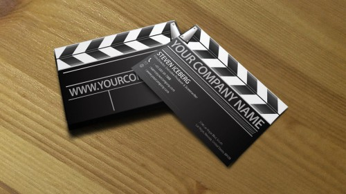17_Film Director Business Card 2
