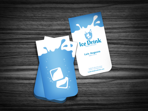 18_Ice Drink Business Card