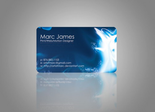 1_Art of Marc Business Card  by Artofmarc