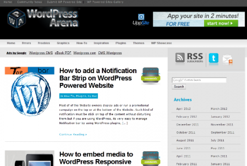 21_WordPress Arena