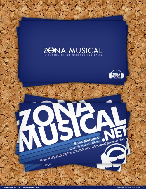 21_Zona Musical Business Card
