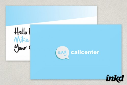 23_Call Center Business Card