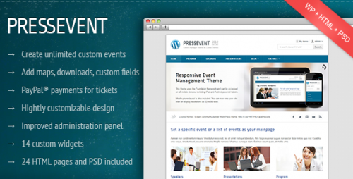 23_PressEvent - Event Management Theme