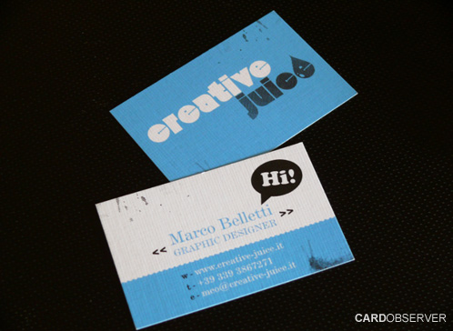24_Creative Juice Business Card