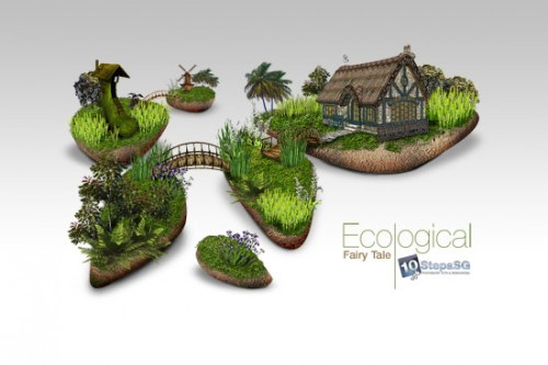 25_Creating an Ecological Fairy Tale Wallpaper