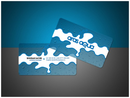 26_Aras Aqua Business Card