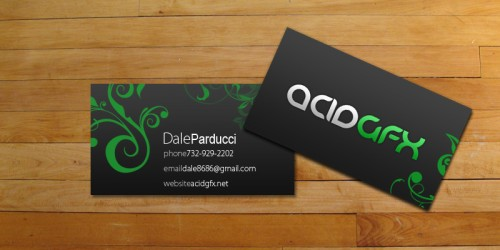 29_AcidGFX Business Cards