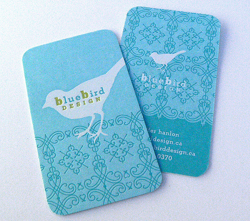 29_Blue Bird Design Card