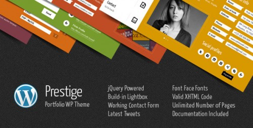 2_Prestige - Portfolio WordPress Theme