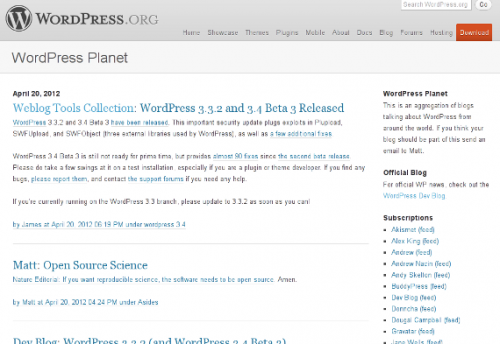 2_WordPress Planet