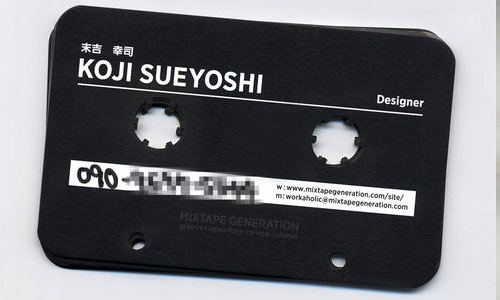 30_Mixtape Generation Business Card