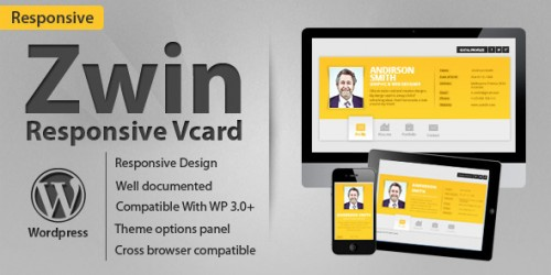 33_Zwin - Responsive vCard Wordpress Theme