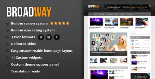 35_Broadway - A WordPress Magazine Theme