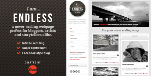 36_Endless - Infinite scrolling WordPress Theme