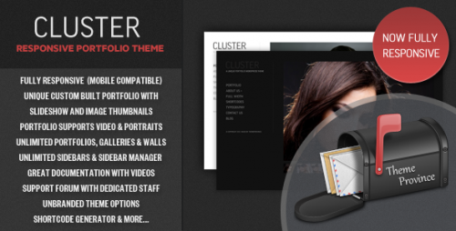 39_Cluster - A Responsive Portfolio WordPress Theme