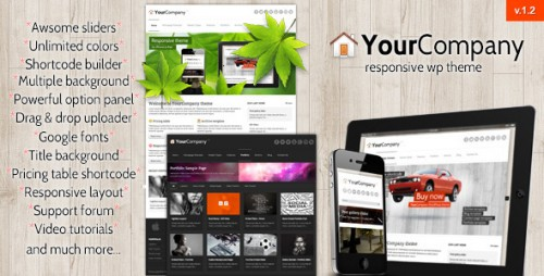 40_YourCompany - Responsive Business WordPress Theme