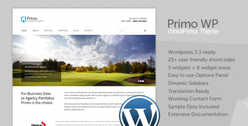45_Primo WP - Business &amp; Corporate WordPress Theme