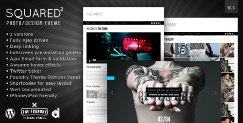 4_Squared Minimalist Creative Wordpress Theme