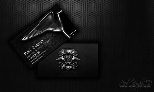 5_Chopper Academy Business Cards