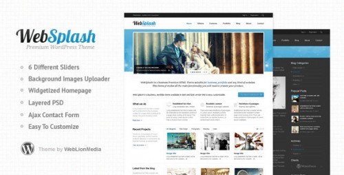 5_Web Splash - Premium WordPress Theme