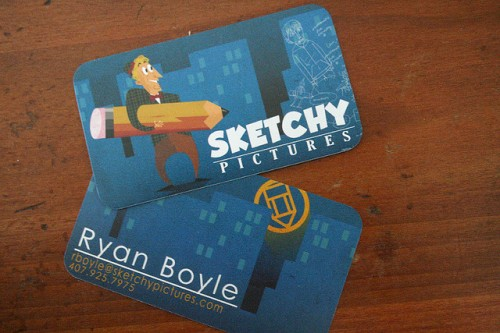 6_Sketchy Pictures Business Card