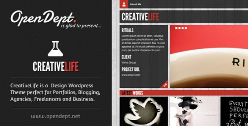 8_CreativeLife - WordPress Theme For Creatives