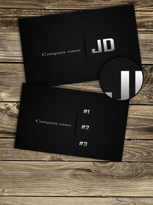9_Carbon Business Cards