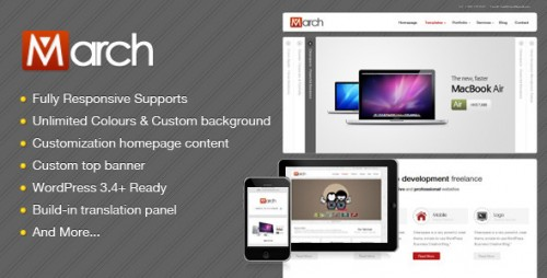 9_March - Responsive Clean Business WordPress Theme