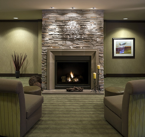 Modern Stone Fireplace Design Ideas 500 x 471