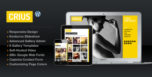 10_Crius Responsive Photography Creative Portfolio