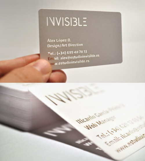 10_Invisible Business Card