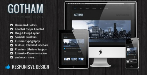 11_Gotham - Responsive Business WordPress Theme