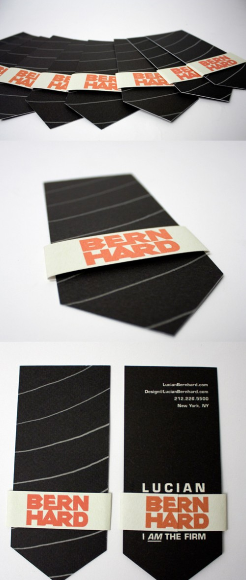 11_Tie-Shaped Business Card