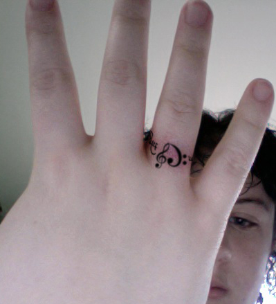 Ring Tattoo Idea