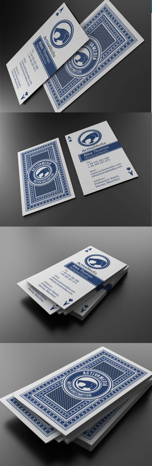 13_Casino Style Business Card