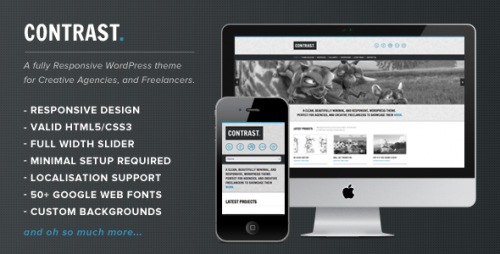 13_Contrast - Responsive Minimal HTML5 Theme