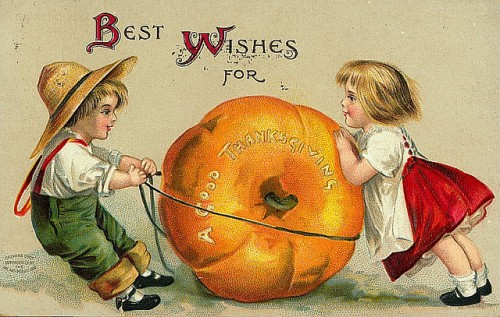 13_Vintage Thanksgiving Postcard