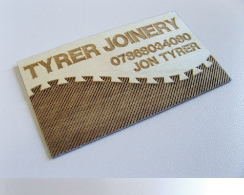 14_Wooden Business Card