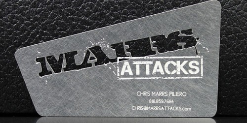 15_Creative Metal Business Card