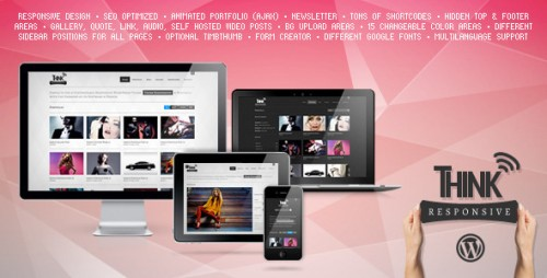 15_Think Responsive Portfolio and Blog