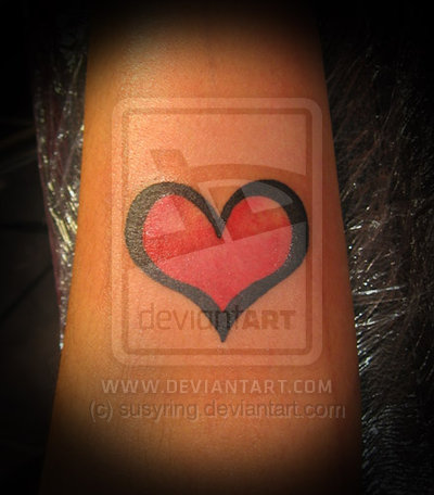 16_Heart Tattoo Design
