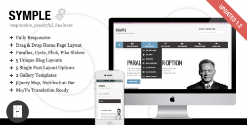 16_Symple - Business, Responsive, WordPress