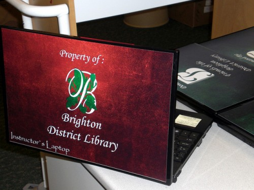 17_Brighton District Library Laptop Skin